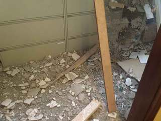 PHOTOS: 4 hurt in wall collapse in West Palm