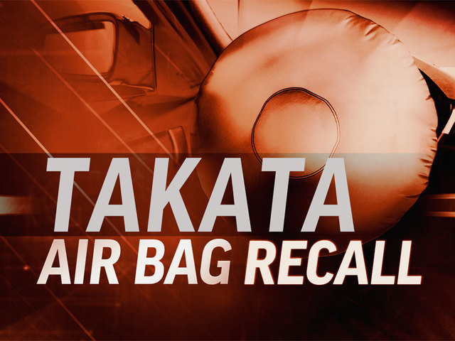 Takata air bags recall expands to 3.3 million vehicles
