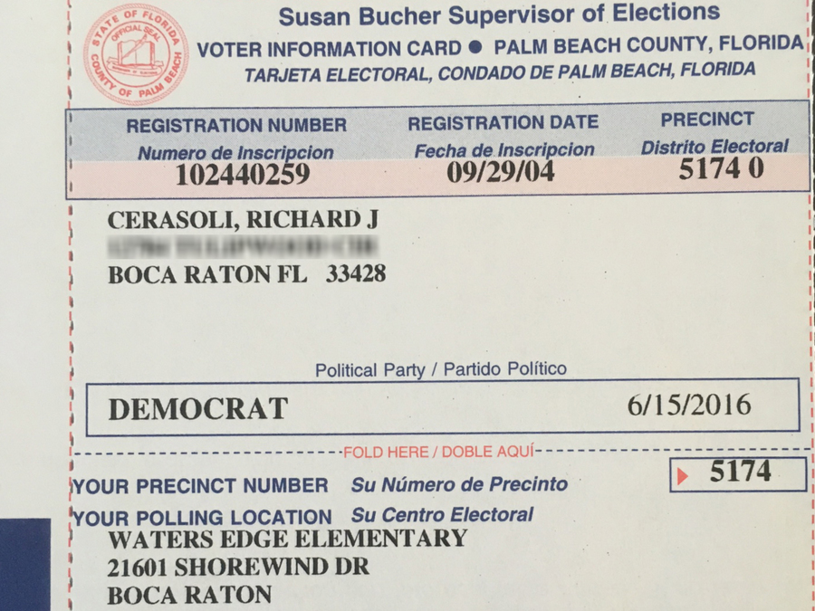 Gas Prices Miami >> Deceased Florida man's voter registration card sent to ...