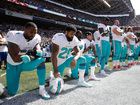 Dolphins owner keeping options open on anthem