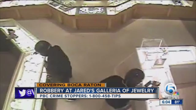 80000 in jewelry stolen from Boca Raton Jared Jewelers wptvcom