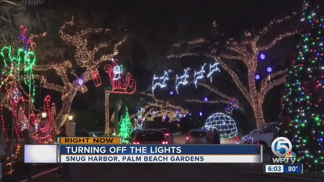 neighbors complain about snug harbor christmas lights