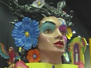 South Florida Fair sports Mardi Gras theme