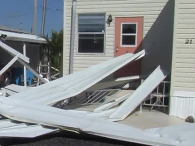 Nws Confirms Ef0 Tornado Hit Juno Beach Damaging Pier And Mobile Home