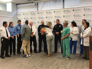 Tequesta crews awarded for reviving shocked man