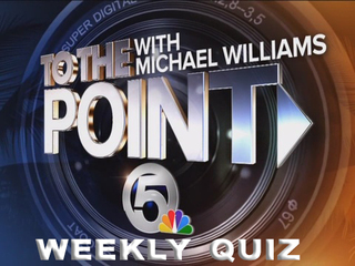 To the Point weekly quiz for Nov. 12