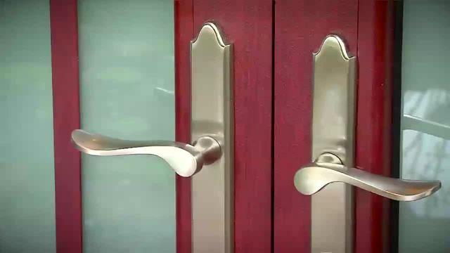 Front entry door system improvement