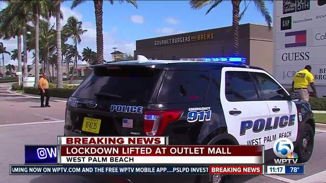 Lockdown Lifted At Palm Beach Outlets Wptvcom - Car show west palm beach