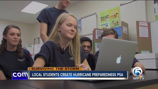 Park Vista students create hurricane preparedness PSA