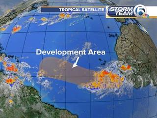 Intense tropical wave near Africa