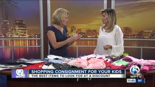 Consignment shopping: Snag back to school deals