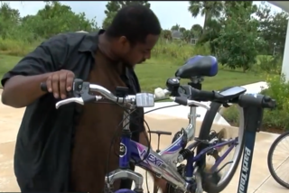Man raising money for special needs bikes