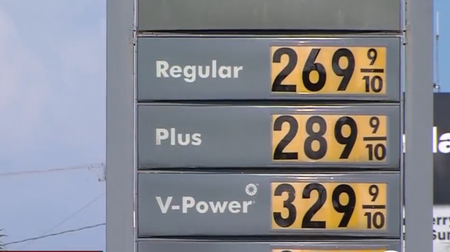 Gas Prices In Florida >> Gas Prices Continue To Rise As A Result Of Hurricane Harvey Wptv Com