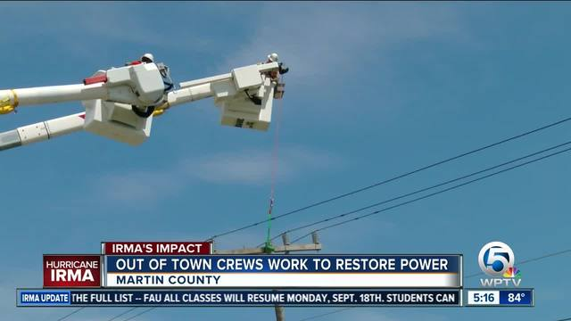 Linemen From California Work To Restore Power In South