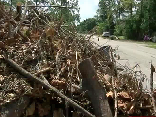 Debris cleanup continues in Delray Beach