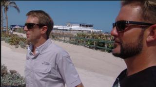 Surfers explain rescue of shark bite victim