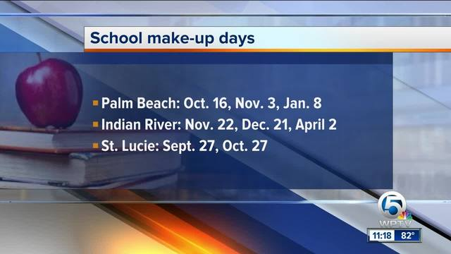 Palm Beach County School District Hurricane