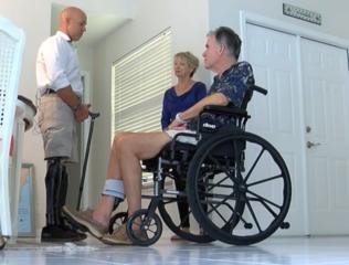 Congressman Mast visits patients in Palm City