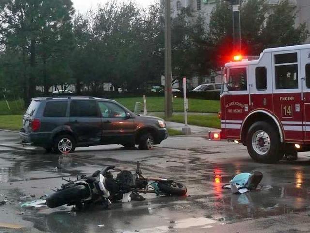 motorcyclist killed  port st lucie crash idd wptvcom