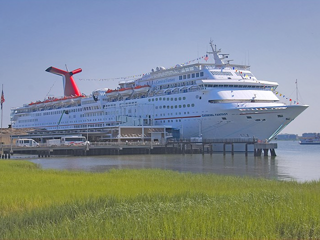 Carnival Fantasy Cruise Ship Stuck In The Gulf Because Of Nate - Fantasy cruise ship pictures