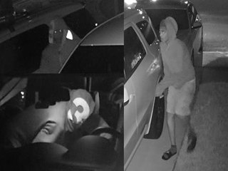 Can you I.D. these suspects creeping into cars?