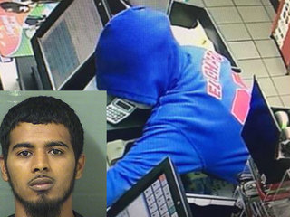 Suspect arrested in hooded sweatshirt robbery