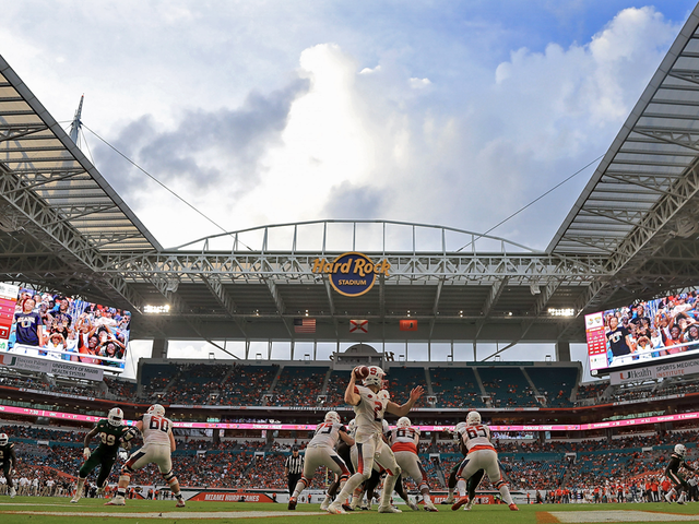 Hard Rock Stadium In Miami Gardens Will Host The Cfb Playoff National Championship In 2021