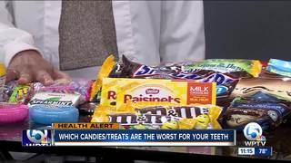 Which candy is the worst for your teeth?