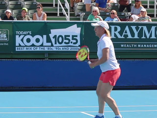 Annual Chris Evert pro celebrity classic held