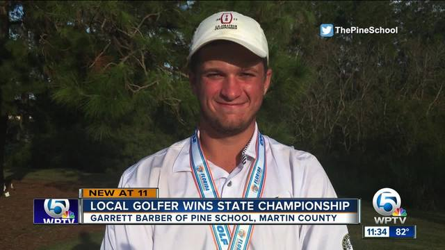 18-year-old Martin County golfer wins state championship