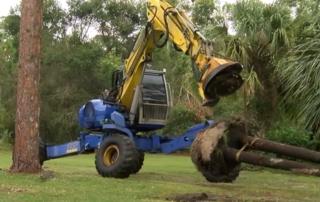 Clearing hidden hurricane debris in the water