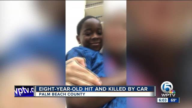 Eight-year-old hit and killed by car