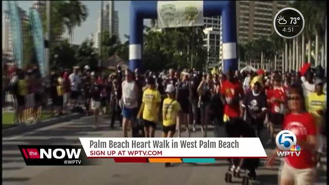 Palm Beach Heart Walk in West Palm Beach