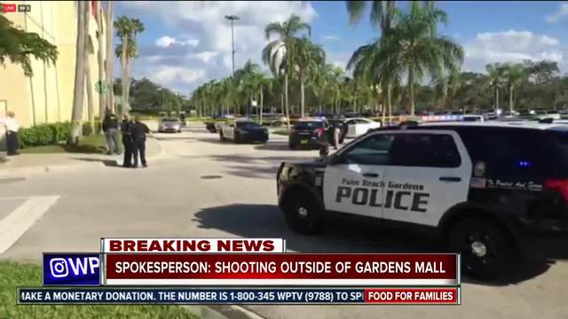 Heavy Police Presence At The Gardens Mall