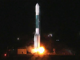 New US weather satellite launched