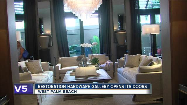 Restoration Hardware Opens In West Palm Beach