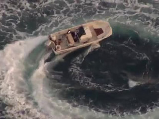 Boat found spinning in Calif.; 1 dead, 1 missing