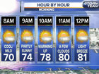 Morning patchy fog, a wetter Thanksgiving
