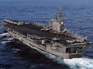 US Navy plane with 11 aboard crashes; 8 saved