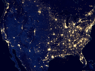 Light pollution increasing around globe