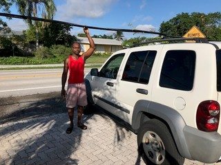 Man dealing with low wire asks for WPTV's help