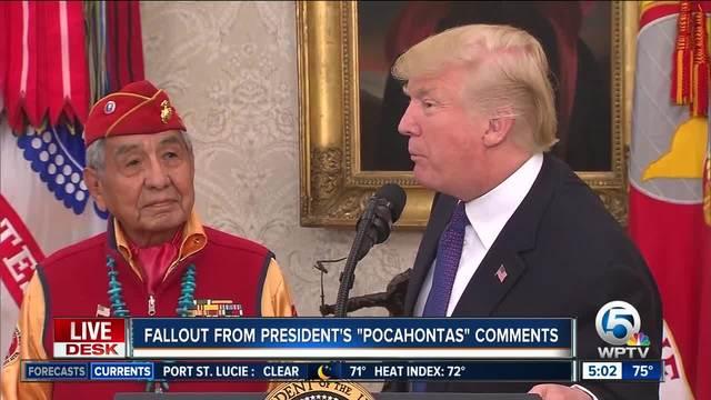 White Woman Elizabeth Warren: Trump Calling Me Pocahantas is a Racial Slur