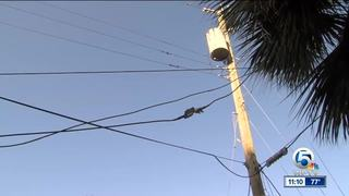 2nd family gets help with down Comcast wires