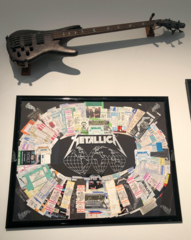 Rock celebrity creates art exhibit for charity