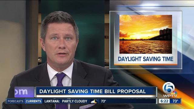 Florida lawmaker wants to get rid of daylight saving time, report says