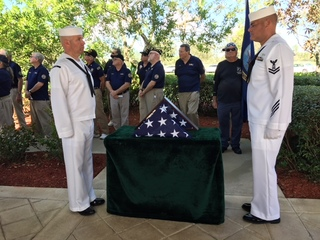 Pearl Harbor veteran laid to rest in Lake Worth