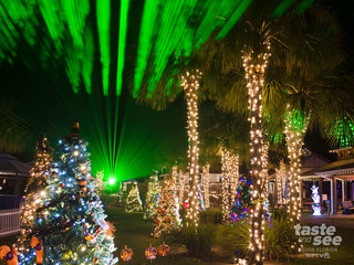 Lights on the Lagoon, a Winter Wonderland opens
