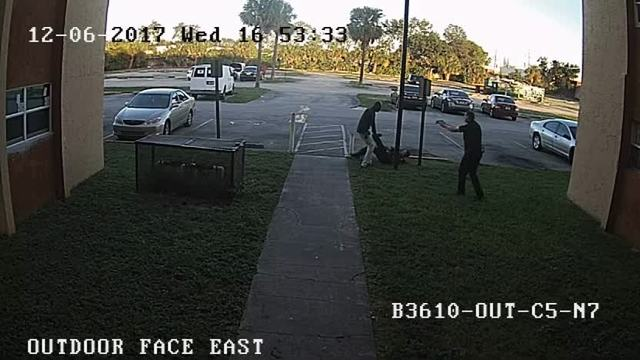 Surveillance video shows BSO deputy-involved shooting
