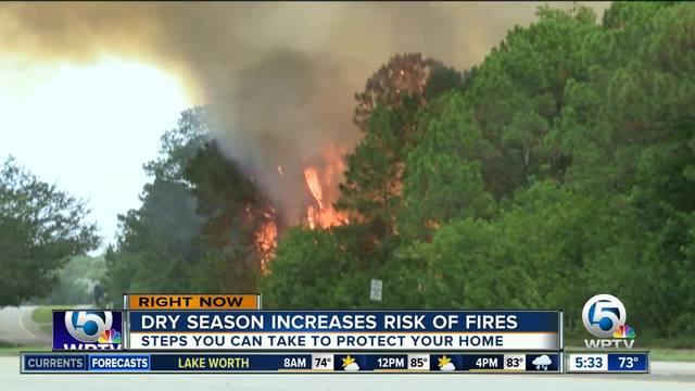Florida Forest Service offers advice to protect home from fires