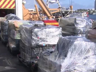 Coast Guard offloads 12 tons of cocaine